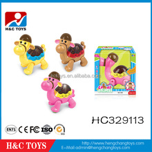 Wholesale B/O toy musical cartoon plastic camel toy HC329113