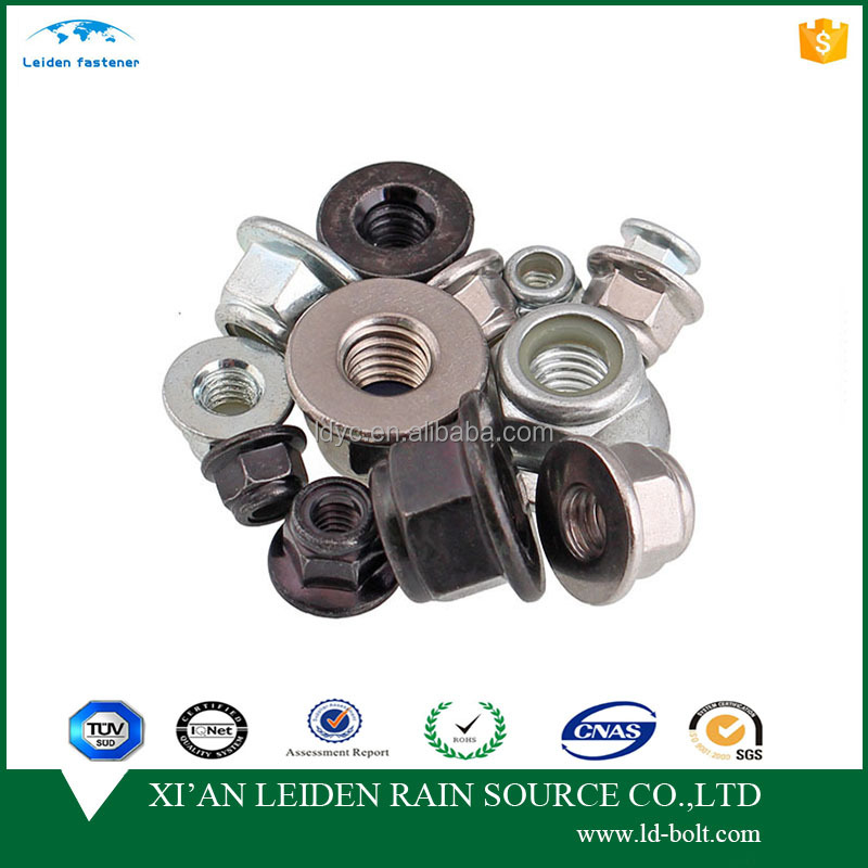 stainless steel hex nut DIN982 fasteners locknuts