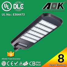 EMC RoHS C-Tick Energy Star GS SAA LVD CE UL Approval IK10 Street Light/Road Lamp/Street Lighting Fitting With Philips Chip