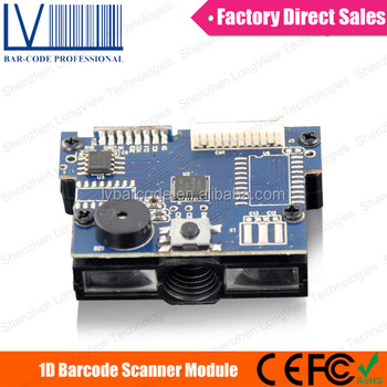 LV12 Mini OEM 1D CCD Barcode Maker Module for USB Gadgets