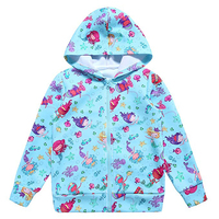 Customized Baby Custom Full Printing Hoodie For Kids Girls Unicorn Dress Cartoon Hoodie For Kids