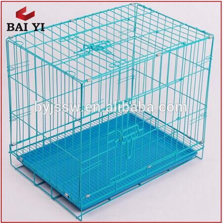 Galvanized Metal Dog Cage