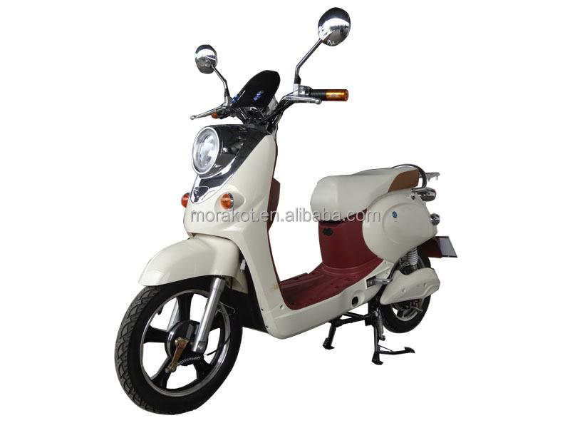 350 W ~ 500 W 32 ~ 37 KM/H 2 roues Électrique Scooter/Vélo Électrique avec Pédales --- LS1-4