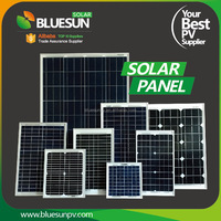 Bluesun 25 years warranty poly and mono 5w 10w 20w 30w 40w solar panel