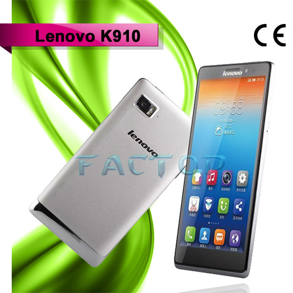 lenovo k910 dual sim card dual standby with CE certificate 5.5 inch games in internet free phone