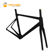 2018 new carbon frame road bicycle 700C aero Disc brake 440 470 505 535 560mm available Di2 bike frame BB86 1060g