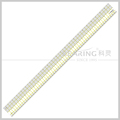 "Kearing manufacture 24""*2"" transparent 3mm thickness Acrylic Patchwork Patterns straight Pattern Making Ruler# KPR2402"