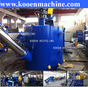 auto pet plastic recycling equipment for sale