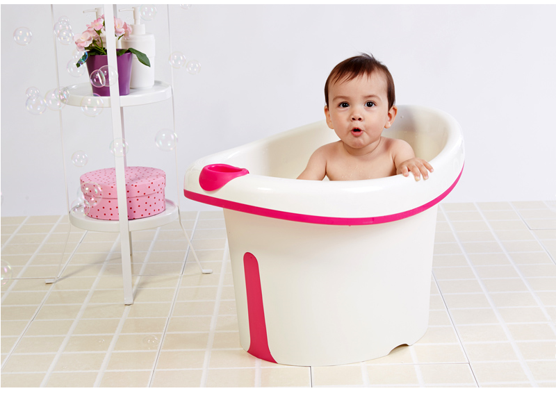 Alibaba china manufacturer high quality durable plastic baby bath bucket with seat