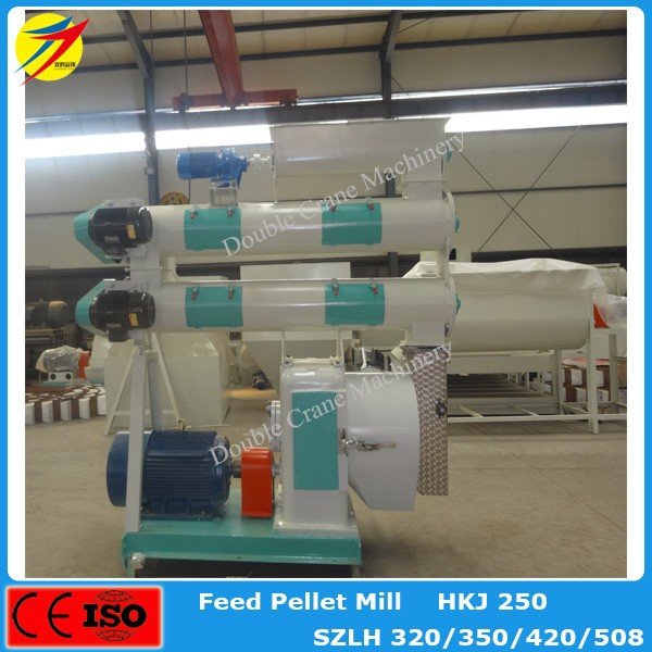 livestock feed prodcution line / small poultry feed pellet mill plant