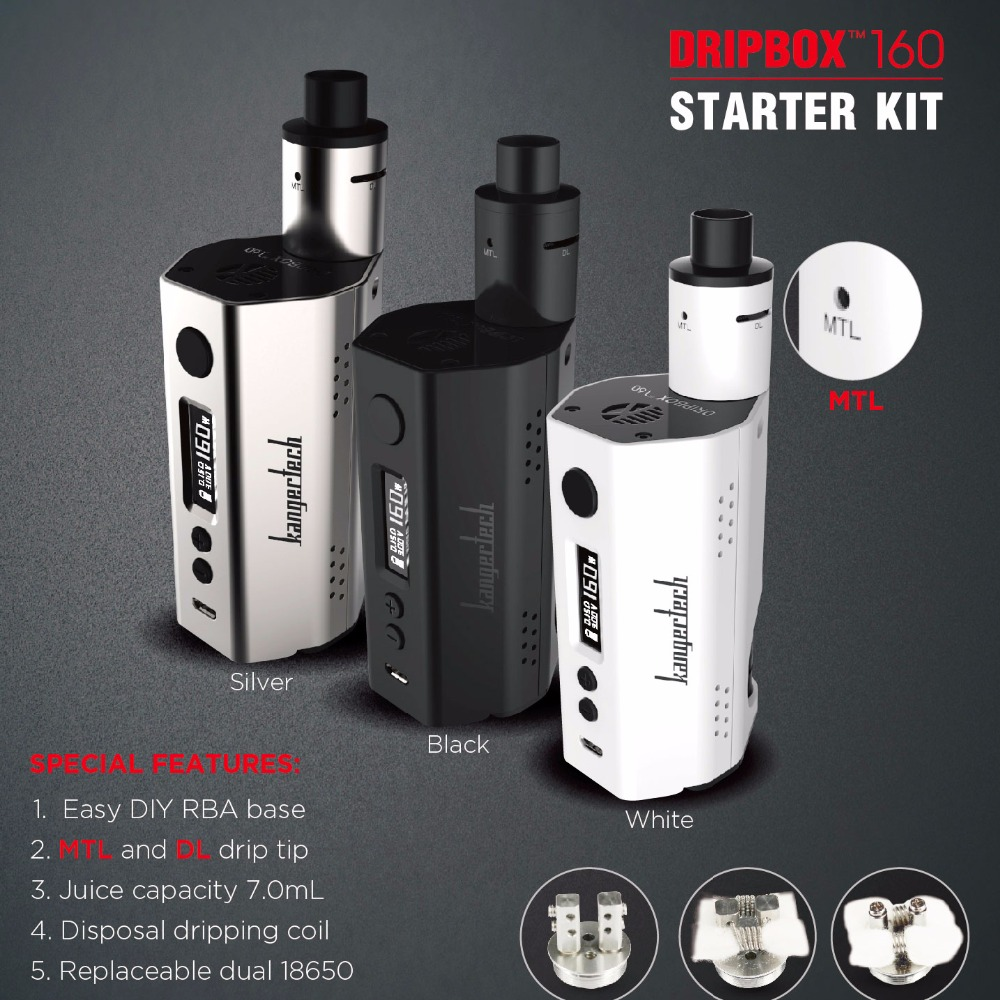Online shopping electronic cigarette Kangertech 7.0ml 160W Dripbox