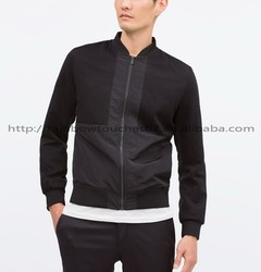 2015 high quality Zipper pocket mens jacket motorcycle
