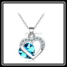Evening Dress Double Heart Necklace Meaning Different Types Of Necklace Chains MGJ0031