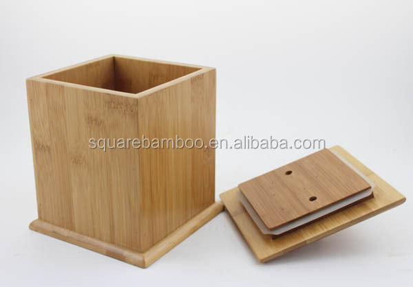bamboo canister set