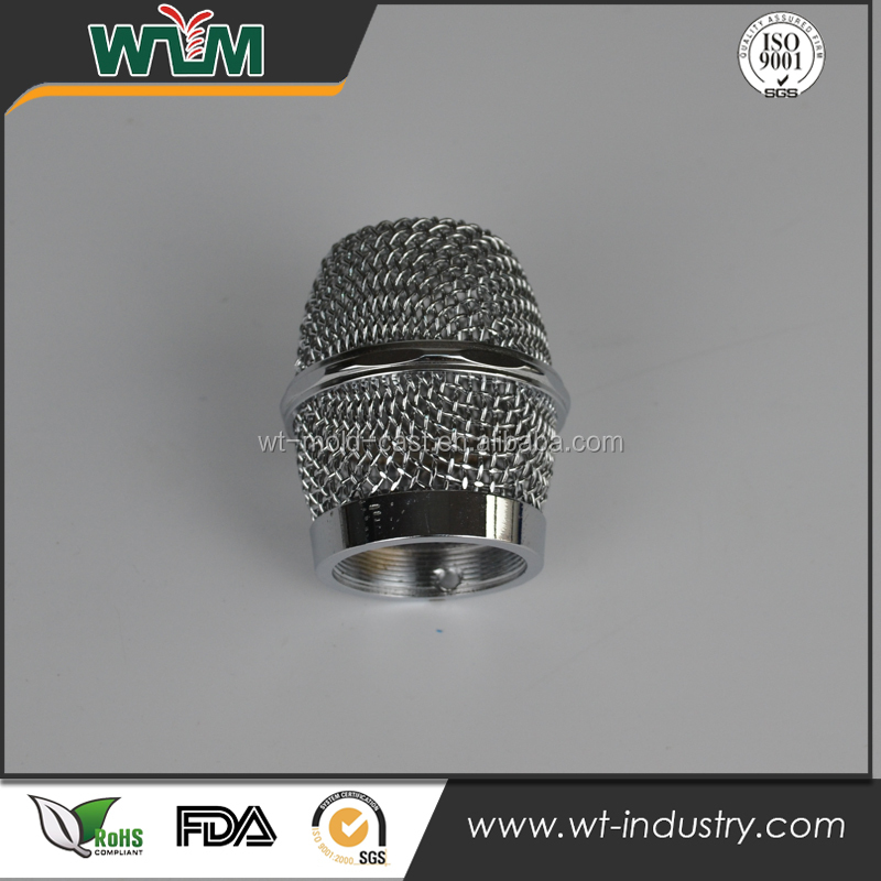 Shenzhen custom design CNC machining steel metal <strong>parts</strong> for microphone