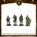 Metal Painting warrior , Colored Soldier Figurines, Painted Warrior