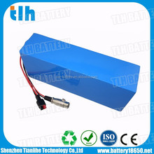 Deep cycle 48v 15ah li-ion battery pack with BMS system