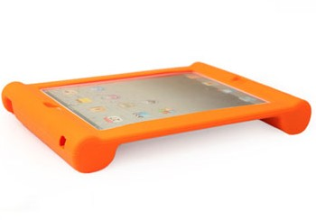 High quality eva shock proof soft silicon cover for ipad 4