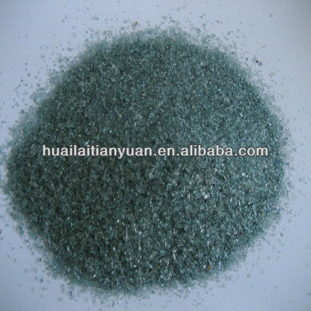 diameter 1-3mm borosilicate black frit glass for recycling