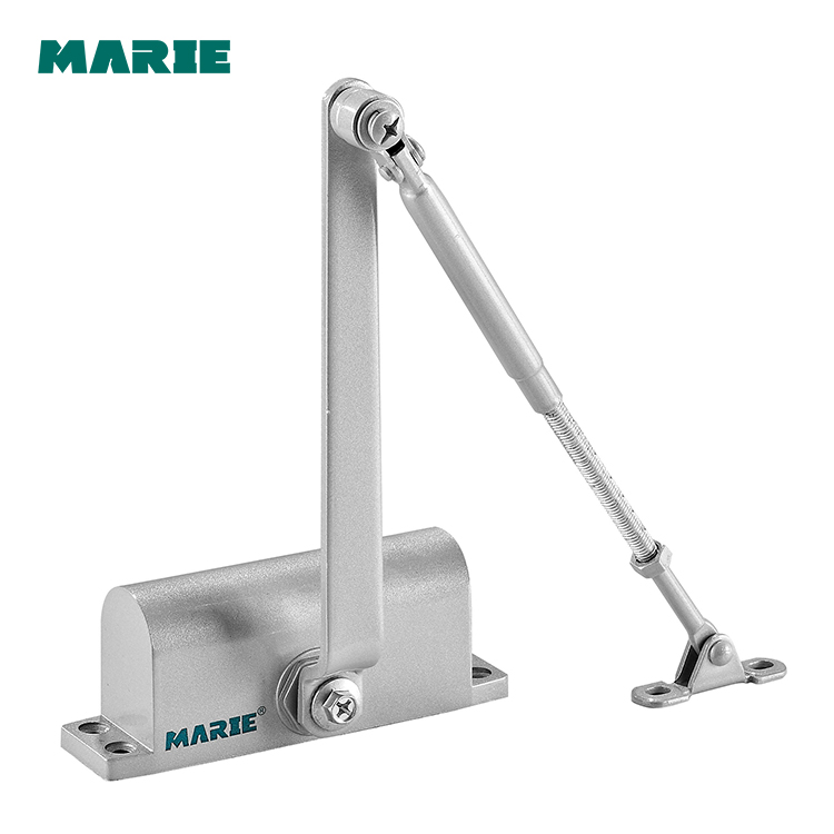 Top High Quality Two Speed Hydraulic Fireproof Aluminum Door Closer for Home Automation 2102/2102D
