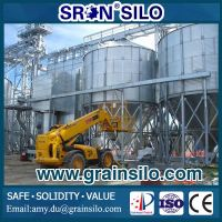 SRON Customized 100M3 Small Hopper Bottom Grain Steel Silo