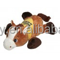 Logo custom Horse laying down with yellow bandana