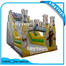 Boy & Girl Inflatable Slide / Commercial Inflflatable Jumping Castle for Sale