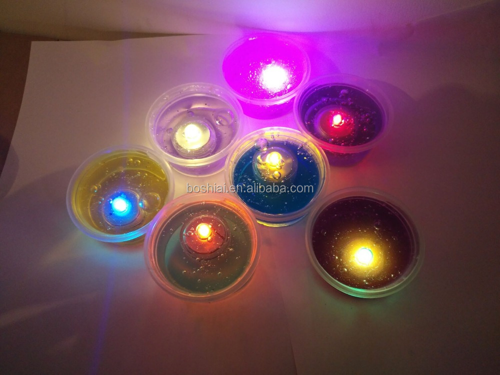 magic colorful crystal clay with LED light, crystal slime with light ,more colorful cystal slime