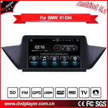 car dvd gps android system for bmw x1 e84 3G Internet monitor screen radio gps navigation 3g wifi TV USB bluetooth phone