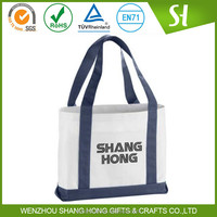Wenzhou custom reusable cotton recycle bag/ tote bag canvas