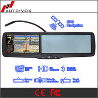 HD car rear view bluetooth system with media player