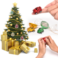 Christmas tree ornaments mini size infrared remote control nano toy rc car