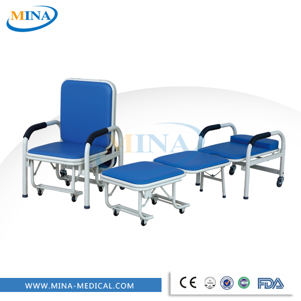 MINA-P1 High quality hospital metal sofa cum bed price