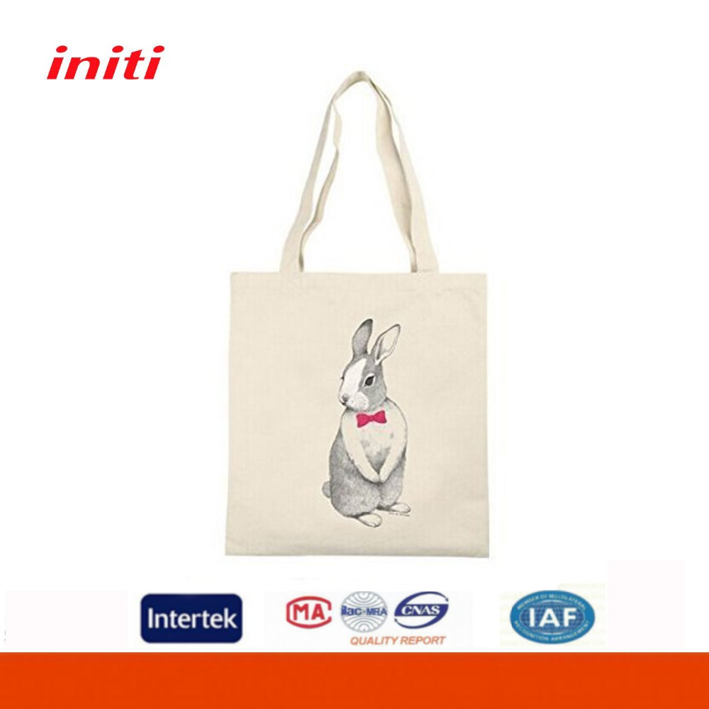 Tote/Shoulder Eco Natural Polyester Cotton Bag for Shopping