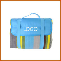 Square Travel Mat Easy Carry Moistureproof Picnic Blanket