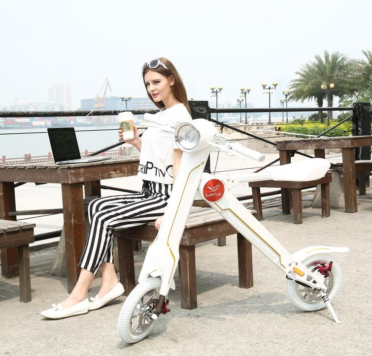 Mini foldable motorised moped scooter bike electric motorbike for adults