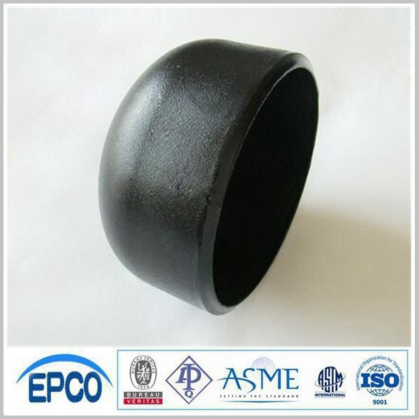 DIN2617 black steel butt welded pipe fitting end cap
