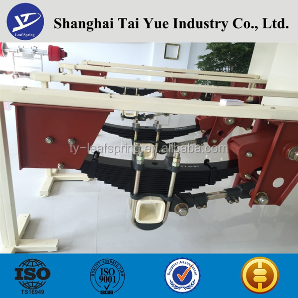 leaf spring for bogie and suspension system in tai yue