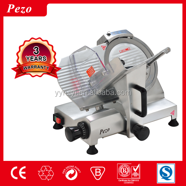full aluminium alloy body automatic frozen meat slicer cutting machine