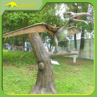 KANOSAUR0171 Customized Attractive Mechanical Life Size Dinosaur Pterodactyl