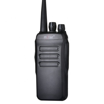 High quality M-598 handheld Uhf Vhf waterproof two way radio