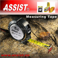 Magnetic hook professional auto-stop metal+rubber case bmi tape measure