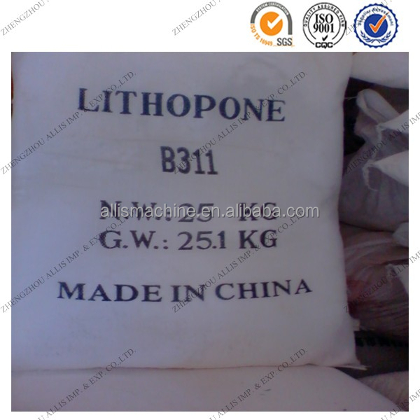 white powder Paint pigment B311 lithopone 28%