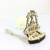 wooden bell shape gifts and crafts for decor sd-008