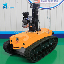 China Good fire fighting robot for sale construction conclusion
