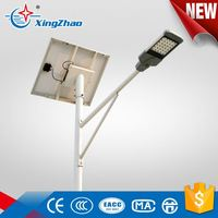2016 newest design led 100w road light with solar panel