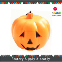 New Cheap Decorative Handled Plastic Pumpkin Hanging Led lantern