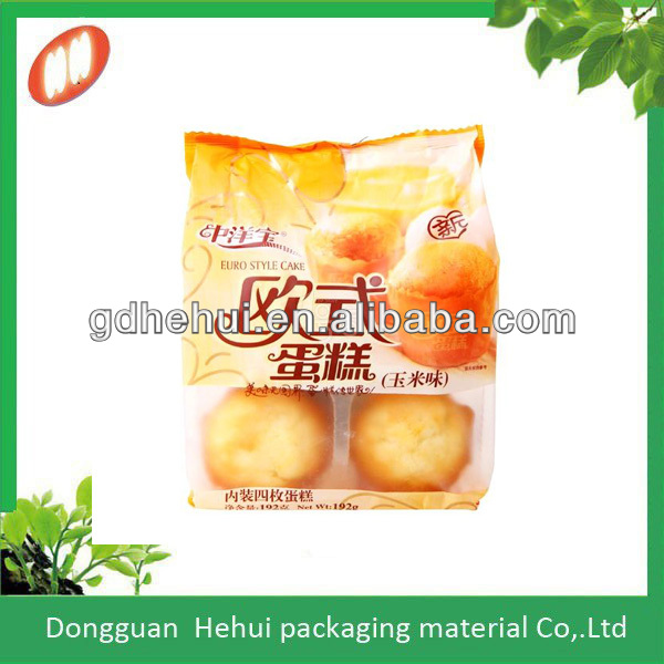 Easy loaf fresh bread packaging compound bags