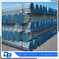 pipe manufacturers in china ! round section galvanized steel tube hot roll gi steel pipe