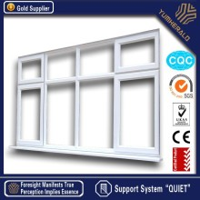 Australia Standard Certified Aluminum Frame Insulated Glass Large Horizontal Fix Window